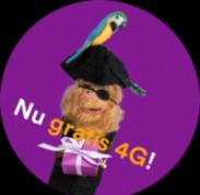 SIMPEL TRAKTEERT! Gratis 4G