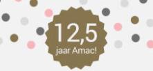 Kortingscode Amac voor €12,50 korting