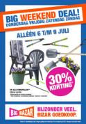 Sale bij Leenbakker met kortingen tot 30% op op alle tuinspullen.