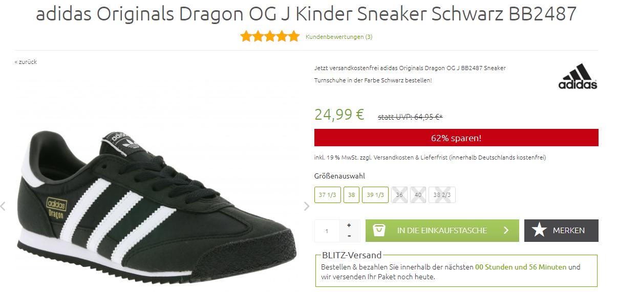 adidas dragon kinder 24