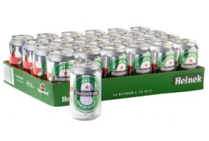 Heineken Tray pils blik 24 stuks voor €11