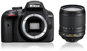 Nikon D3400 + AF-S DX 18-105 VR - Zwart voor €499