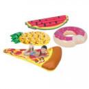 Opblaasbare watermeloen, donut, ananas of pizza voor €2,99