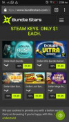 Bundlestars heeft sale, nu 29 steam keys voor €1,09
