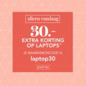 Kortingscode Wehkamp voor €30 korting op je laptop