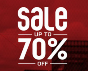 Sneakers met kortingen tot 70%