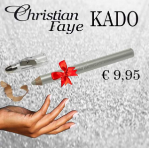 Gratis Christian Faye Highlighter potlood dmv kortingscode