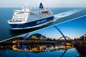 3-daagse Mini Cruise Newcastle voor €69 per persoon