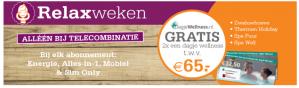 Bij elk abonnement: Sim Only  2 Dagje Wellness tickets voor €4