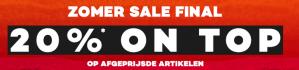 Kortingscode Planet-sports voor 20% extra korting op de sale