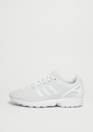 Adidas ZX Flux triple white voor €30