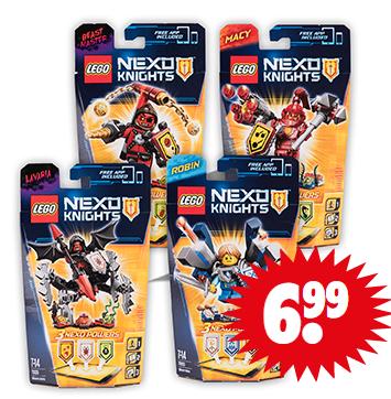 Diverse Lego Nexo Knights voor €6,99