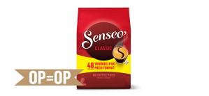 Probeer nu Senseo pads 48 stuks voor €2,50 dmv cashback