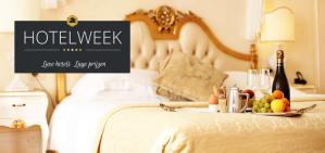 HotelWeek! Goedkoop nachtje weg incl ontbijt vanaf €50
