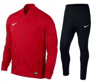 Nike Academy16 Knit Trainingspak Heren Trainingspak Mannen - rood/zwart voor €33,80