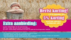 Kortingscode Baby-schoenen voor 2 paar babyslofjes voor €25