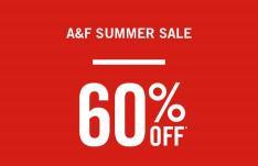 Abercrombie & Fitch sale met kortingen tot 60%