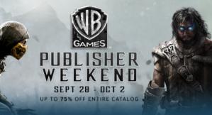 Warner Brothers games met 75% korting