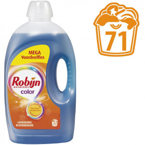 Robijn Color Vloeibaar - 71 wasbeurten Voordeelverpakking voor €10