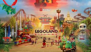 Legoland Billund (Denemarken) 3 tickets voor €69