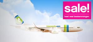 Sale bij Transavia: tickets vanaf €19