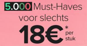 Sale bij Dress for Less 5.000 artikelen voor €18