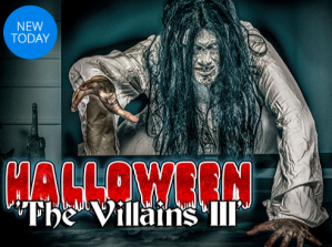 Entree tickets voor The Villains lll met Halloween voor €12,50