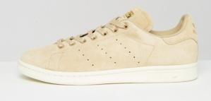 adidas Stan Smith suède dames sneakers (beige) voor €31,65