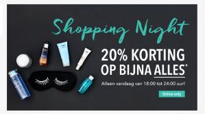 Douglas Shopping Night met 20% korting