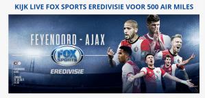 TV fox sports (KPN) 2 maanden voor slechts 500 airmiles