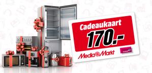 Gratis Mediamarkt cadeaukaart van €170