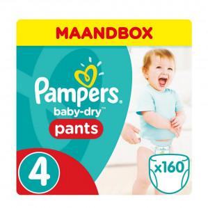 Pampers Premium Protection en Baby-Dry Pants maandboxen met 40% korting