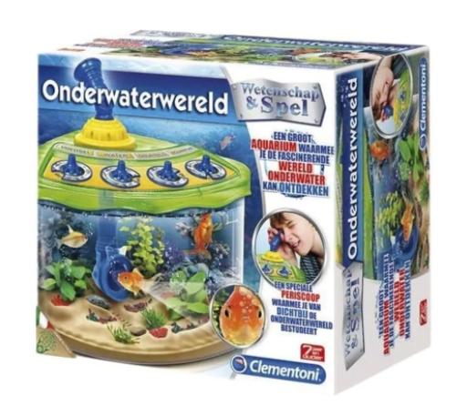 Diverse Clementoni wetenschapsspellen voor €8,99