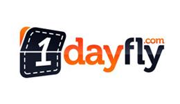Kortingscode 1dayfly voor €5 korting op alles