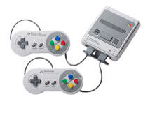 Nintendo console Classic Mini Super Nes grijs voor €74,95
