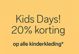 Kids days sale C&A met 20%