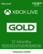 Xbox Live Gold 12 maanden voor €34,67 d.m.v. code