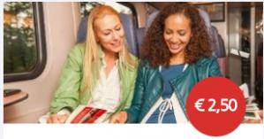 NS Meereisretour voor €2,50