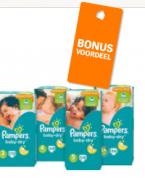 Diverse Pampers jumbopakken 47-70 stuks, 2 pakken voor €29,99