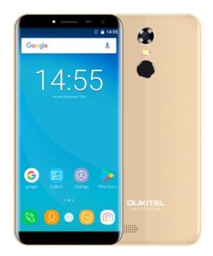 """Oukitel C8 5.5"""" Infinity Display smartphone voor €64,06"""