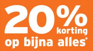 Gamma sale met 20% korting op bijna alles