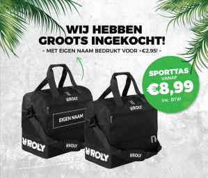 Sporttas met schoenenvak voor €9,99