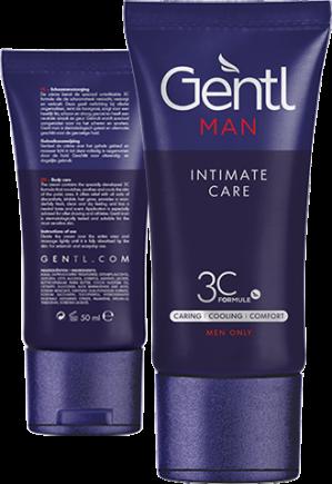 Proefverpakking Gentl Men Intimate Care Gratis