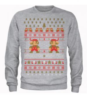 Nintendo kersttruien met Gratis Nintendo t-shirt voor €27,99