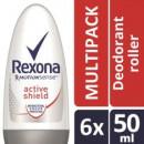 6x Rexona Men of Women Active Shield Deo Roller voor 5,99