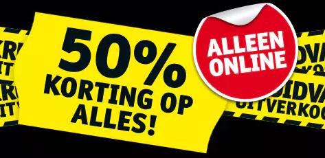 Kruidvat final sale met 50% EXTRA korting