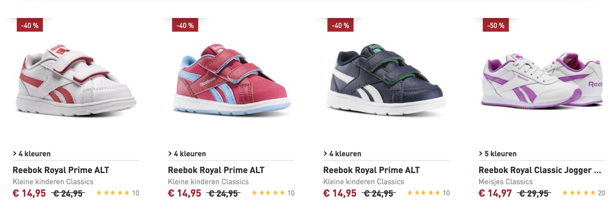 Maintenant, 15% De Réduction: Chaussures De Sport Reebok »reebok Premier Mi Royal«