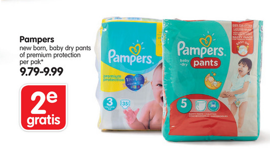 Pampers 1+1 Gratis