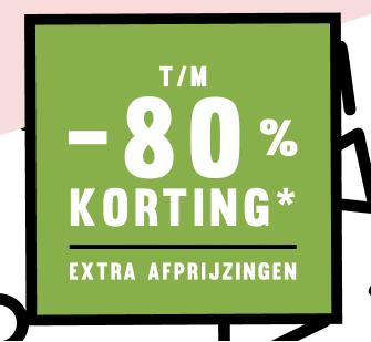 Sale bij Sooco met kortingen tot 80%