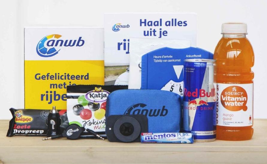 Vraag een gratis Rijbewijsbox aan incl. 1 jaar gratis ANWB Wegenwacht
